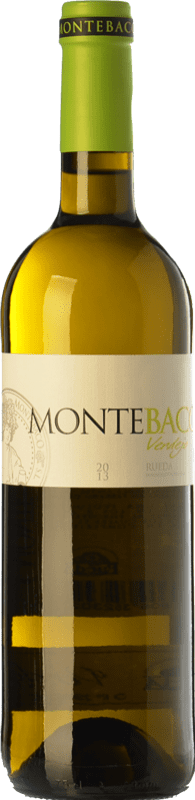 11,95 € Free Shipping | White wine Montebaco D.O. Rueda Castilla y León Spain Verdejo Bottle 75 cl