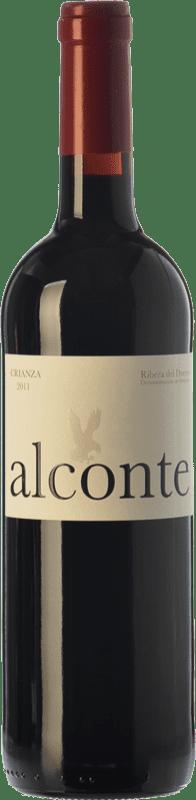 12,95 € Envío gratis | Vino tinto Montecastro Alconte Crianza D.O. Ribera del Duero Castilla y León España Tempranillo Botella 75 cl