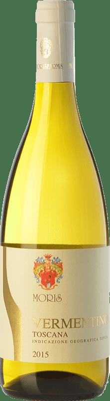 9,95 € Free Shipping | White wine Morisfarms I.G.T. Toscana Tuscany Italy Vermentino Bottle 75 cl