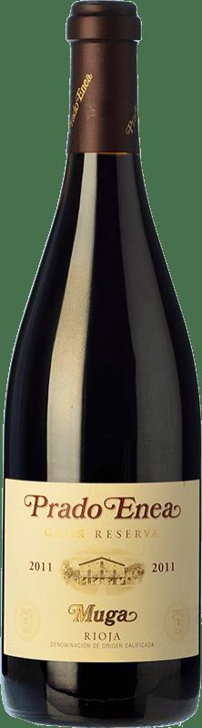 54,95 € Envío gratis | Vino tinto Muga Prado Enea Gran Reserva D.O.Ca. Rioja La Rioja España Tempranillo, Garnacha, Graciano, Mazuelo Botella 75 cl