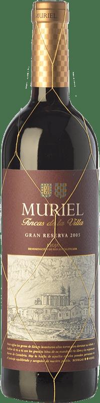 18,95 € 免费送货   红酒 Muriel Fincas de la Villa Gran Reserva D.O.Ca. Rioja 拉里奥哈 西班牙 Tempranillo 瓶子 75 cl