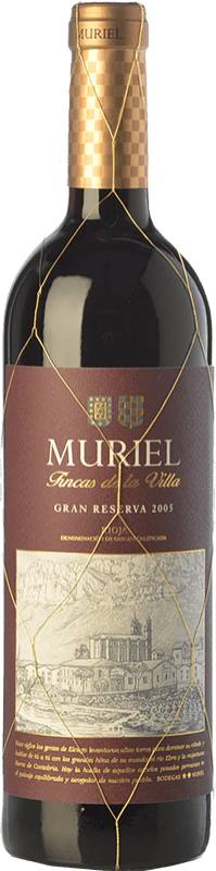 18,95 € | Red wine Muriel Fincas de la Villa Gran Reserva D.O.Ca. Rioja The Rioja Spain Tempranillo Bottle 75 cl