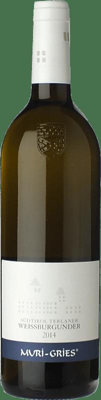14,95 € Free Shipping | White wine Muri-Gries Weissburgunder D.O.C. Alto Adige Trentino-Alto Adige Italy Pinot White Bottle 75 cl