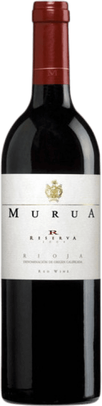 18,95 € Free Shipping | Red wine Murua Reserva D.O.Ca. Rioja The Rioja Spain Tempranillo, Graciano, Mazuelo Bottle 75 cl