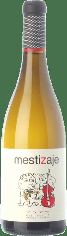 9,95 € 免费送货 | 白酒 Mustiguillo Mestizaje D.O.P. Vino de Pago El Terrerazo 巴伦西亚社区 西班牙 Malvasía, Viognier, Merseguera 瓶子 75 cl