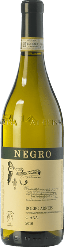 28,95 € Free Shipping | White wine Negro Angelo Gianat D.O.C.G. Roero Piemonte Italy Arneis Bottle 75 cl