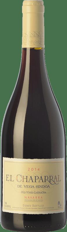 13,95 € Envío gratis | Vino tinto Nekeas El Chaparral de Vega Sindoa Joven D.O. Navarra Navarra España Garnacha Botella 75 cl