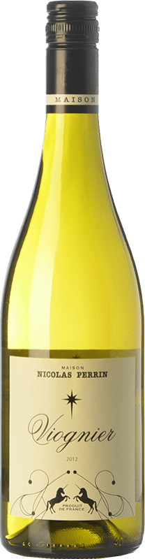 11,95 € Free Shipping | White wine Nicolas Perrin France Viognier Bottle 75 cl