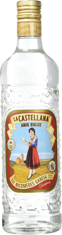 9,95 € Free Shipping | Aniseed La Castellana Sweet Spain Bottle 70 cl