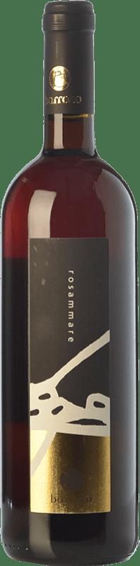 19,95 € Free Shipping | Rosé wine Nino Barraco Rosammare I.G.T. Terre Siciliane Sicily Italy Nero d'Avola Bottle 75 cl