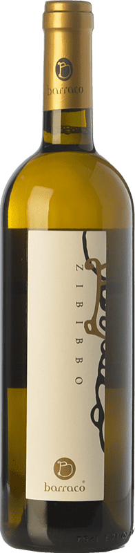 26,95 € Free Shipping | White wine Nino Barraco Zibibbo I.G.T. Terre Siciliane Sicily Italy Muscat of Alexandria Bottle 75 cl