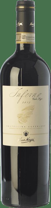 28,95 € Free Shipping | Red wine Nino Negri Inferno Carlo Negri D.O.C.G. Valtellina Superiore Lombardia Italy Nebbiolo Bottle 75 cl