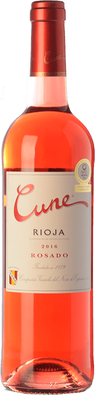5,95 € Free Shipping | Rosé wine Norte de España - CVNE Cune Joven D.O.Ca. Rioja The Rioja Spain Tempranillo Bottle 75 cl