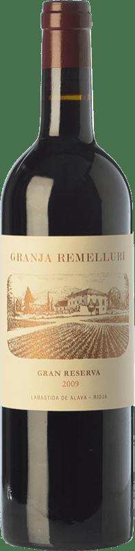 48,95 € Free Shipping | Red wine Ntra. Sra de Remelluri Granja Gran Reserva 2009 D.O.Ca. Rioja The Rioja Spain Tempranillo, Grenache, Graciano Bottle 75 cl