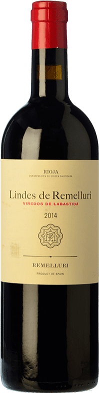 14,95 € Envío gratis | Vino tinto Ntra. Sra de Remelluri Lindes Viñedos de Labastida Joven D.O.Ca. Rioja La Rioja España Tempranillo, Garnacha, Graciano Botella 75 cl