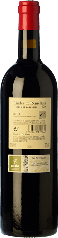 15,95 € Free Shipping | Red wine Ntra. Sra de Remelluri Lindes Viñedos de Labastida Joven D.O.Ca. Rioja The Rioja Spain Tempranillo, Grenache, Graciano Bottle 75 cl