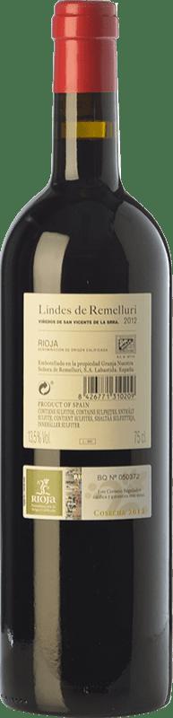 14,95 € Free Shipping | Red wine Ntra. Sra de Remelluri Lindes Viñedos de San Vicente Crianza D.O.Ca. Rioja The Rioja Spain Tempranillo, Grenache, Graciano Bottle 75 cl