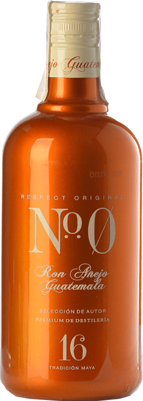 23,95 € | Rum Number Zero Nº 0 Añejo Guatemala Spain Bottle 70 cl