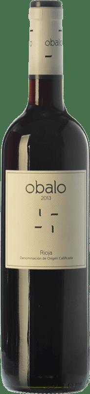 7,95 € 免费送货 | 红酒 Obalo Joven D.O.Ca. Rioja 拉里奥哈 西班牙 Tempranillo 瓶子 75 cl