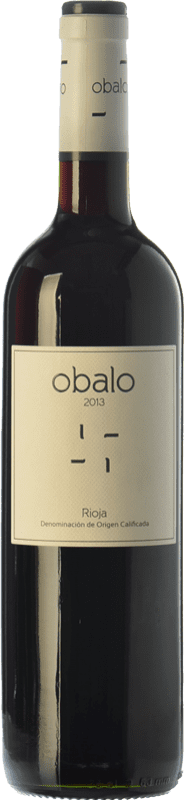 7,95 € Envoi gratuit | Vin rouge Obalo Joven D.O.Ca. Rioja La Rioja Espagne Tempranillo Bouteille 75 cl