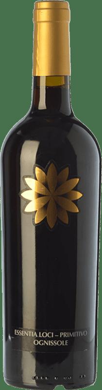 23,95 € Free Shipping | Red wine Ognissole Essentia Loci D.O.C. Primitivo di Manduria Puglia Italy Primitivo Bottle 75 cl