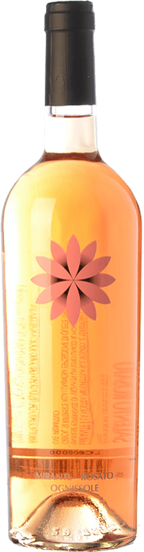 9,95 € Envío gratis | Vino rosado Ognissole Mirante I.G.T. Salento Campania Italia Primitivo Botella 75 cl