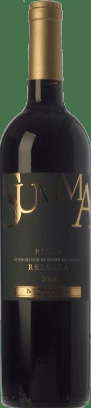 19,95 € Envoi gratuit | Vin rouge Olarra Summa Especial Reserva D.O.Ca. Rioja La Rioja Espagne Tempranillo, Graciano, Mazuelo Bouteille 75 cl