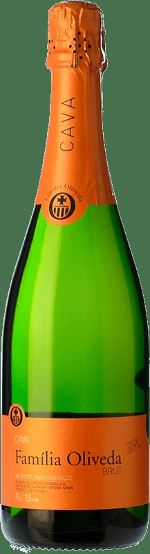6,95 € Envío gratis | Espumoso blanco Oliveda Jove Brut Joven D.O. Cava Cataluña España Macabeo, Xarel·lo, Parellada Botella 75 cl