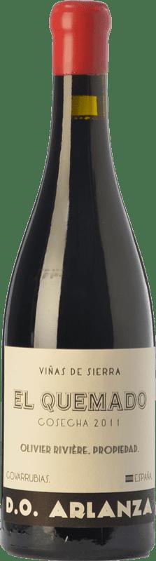 59,95 € Envío gratis | Vino tinto Olivier Rivière El Quemado Crianza D.O. Arlanza Castilla y León España Tempranillo, Garnacha Botella 75 cl