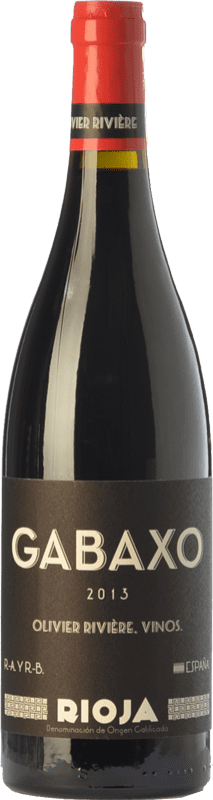 19,95 € | Red wine Olivier Rivière Gabaxo Joven D.O.Ca. Rioja The Rioja Spain Tempranillo, Grenache Bottle 75 cl