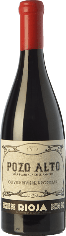125,95 € | Red wine Olivier Rivière Pozo Alto Crianza D.O.Ca. Rioja The Rioja Spain Tempranillo, Grenache, Graciano Bottle 75 cl