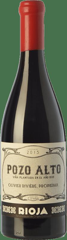 125,95 € Envío gratis | Vino tinto Olivier Rivière Pozo Alto Crianza D.O.Ca. Rioja La Rioja España Tempranillo, Garnacha, Graciano Botella 75 cl