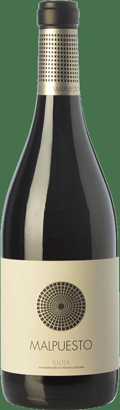 红酒 Orben Malpuesto Crianza D.O.Ca. Rioja 拉里奥哈 西班牙 Tempranillo 瓶子 75 cl