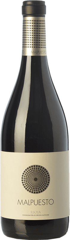 Free Shipping | Red wine Orben Malpuesto Crianza 2014 D.O.Ca. Rioja The Rioja Spain Tempranillo Bottle 75 cl