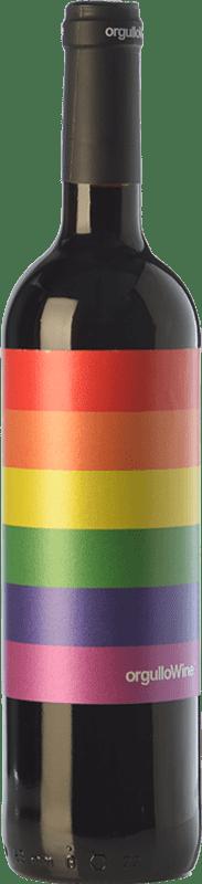 8,95 € | Red wine Orgullo Wine Crianza I.G.P. Vino de la Tierra de Castilla Castilla la Mancha Spain Tempranillo, Cabernet Sauvignon, Petit Verdot Bottle 75 cl