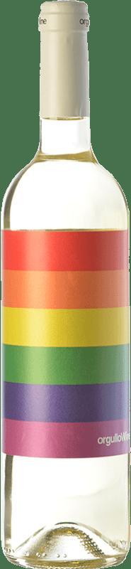 8,95 € | White wine Orgullo Wine Crianza I.G.P. Vino de la Tierra de Castilla Castilla la Mancha Spain Chardonnay, Sauvignon White Bottle 75 cl