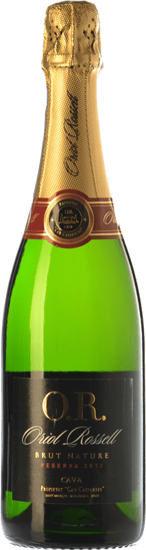 9,95 € | White sparkling Oriol Rossell Brut Nature Reserva D.O. Cava Catalonia Spain Macabeo, Xarel·lo, Parellada Bottle 75 cl