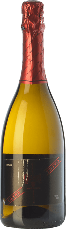 8,95 € Free Shipping | White sparkling Orlandi Oltretutto D.O.C. Oltrepò Pavese Lombardia Italy Pinot Black Bottle 75 cl