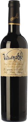 55,95 € | Sweet wine Osborne Sherry PX Venerable V.O.R.S. Very Old Rare Sherry D.O. Manzanilla-Sanlúcar de Barrameda Andalusia Spain Pedro Ximénez Half Bottle 50 cl
