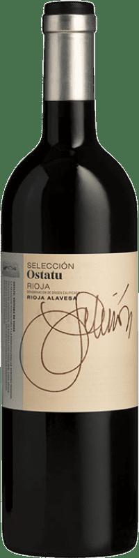 17,95 € 免费送货 | 红酒 Ostatu Selección Crianza D.O.Ca. Rioja 拉里奥哈 西班牙 Tempranillo, Graciano 瓶子 75 cl