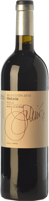 14,95 € | Red wine Ostatu Selección Crianza D.O.Ca. Rioja The Rioja Spain Tempranillo, Graciano Bottle 75 cl