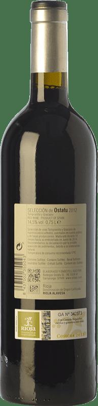 17,95 € Free Shipping   Red wine Ostatu Selección Crianza D.O.Ca. Rioja The Rioja Spain Tempranillo, Graciano Bottle 75 cl