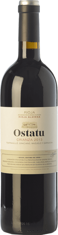 9,95 € | Red wine Ostatu Crianza D.O.Ca. Rioja The Rioja Spain Tempranillo Bottle 75 cl