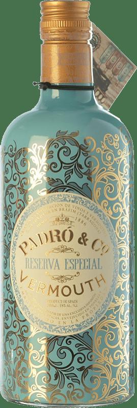 15,95 € Envío gratis | Vermut Padró Especial Reserva Cataluña España Botella 70 cl