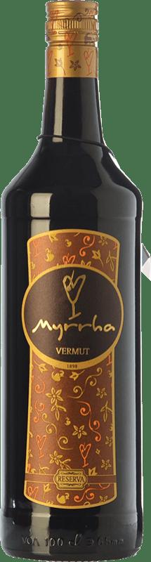11,95 € Envío gratis | Vermut Padró Myrrha Reserva Cataluña España Botella Misil 1 L