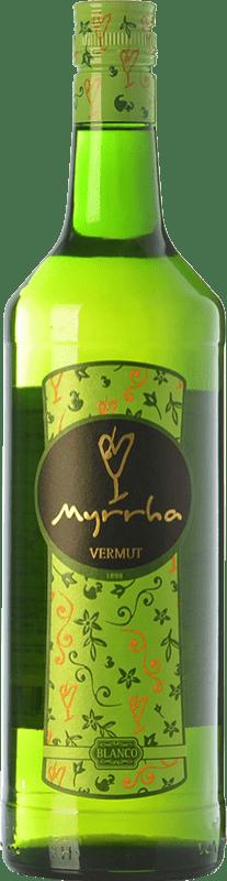 7,95 € Envoi gratuit | Vermouth Padró Myrrha Blanco Catalogne Espagne Bouteille Missile 1 L