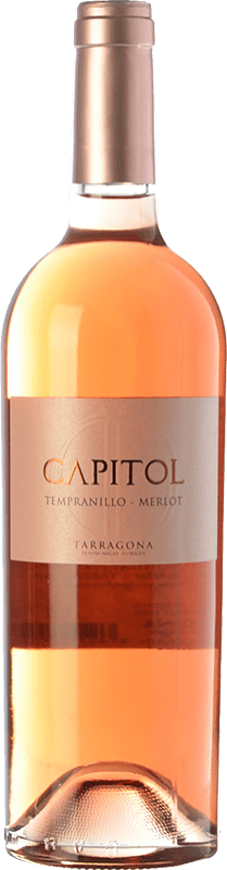 4,95 € 免费送货 | 玫瑰酒 Padró Capitol Joven D.O. Tarragona 加泰罗尼亚 西班牙 Tempranillo, Merlot 瓶子 75 cl