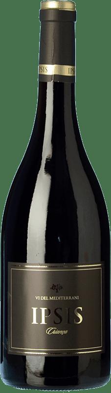 15,95 € 免费送货 | 红酒 Padró Ipsis Crianza D.O. Tarragona 加泰罗尼亚 西班牙 Tempranillo, Merlot 瓶子 75 cl