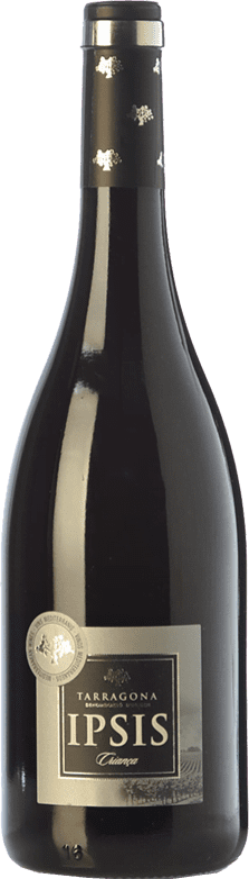 15,95 € Envío gratis | Vino tinto Padró Ipsis Crianza D.O. Tarragona Cataluña España Tempranillo, Merlot Botella 75 cl