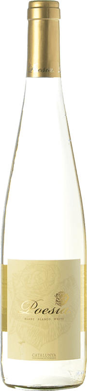 5,95 € Free Shipping | White wine Padró Poesía Joven D.O. Catalunya Catalonia Spain Muscat, Macabeo, Xarel·lo Bottle 75 cl